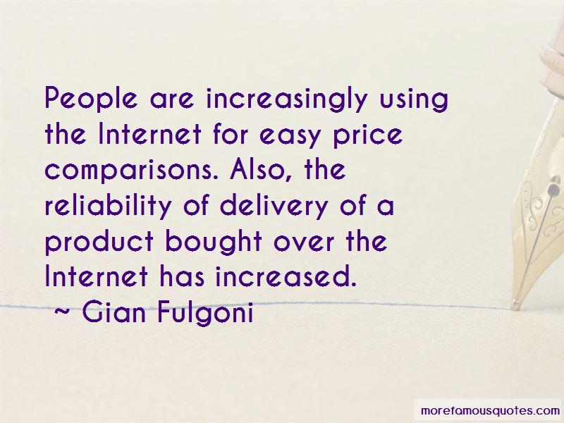 Gian Fulgoni Quotes