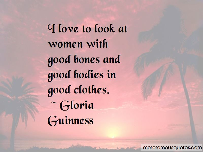 Gloria Guinness Quotes Pictures 2
