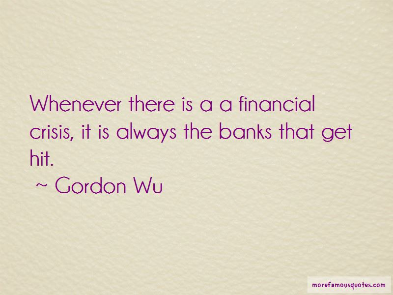 Gordon Wu Quotes Pictures 3