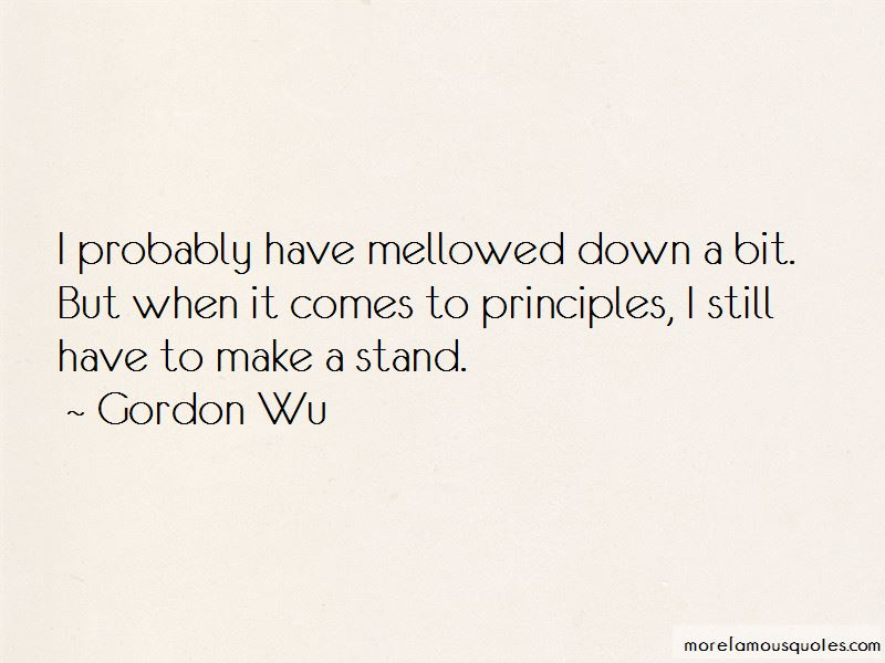 Gordon Wu Quotes Pictures 4