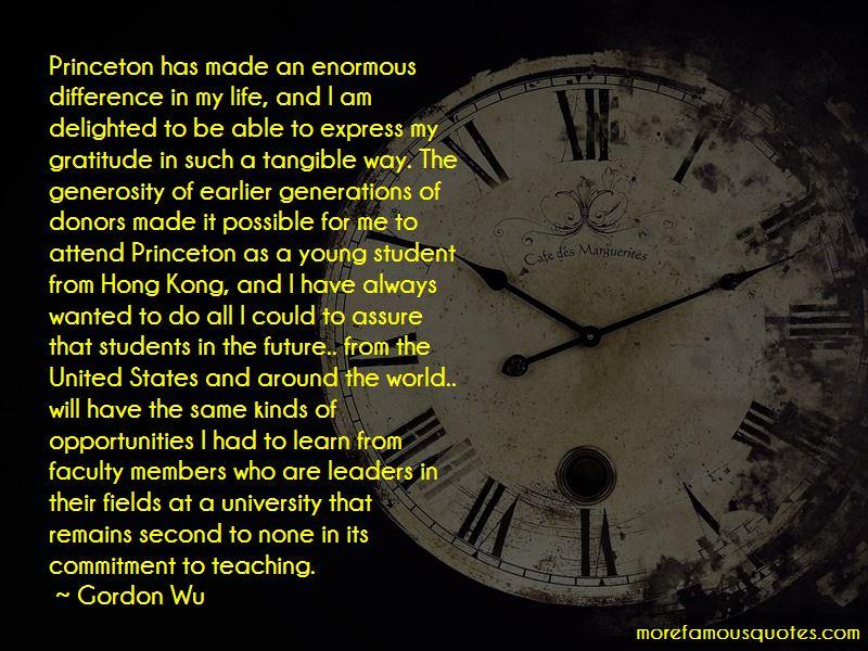Gordon Wu Quotes