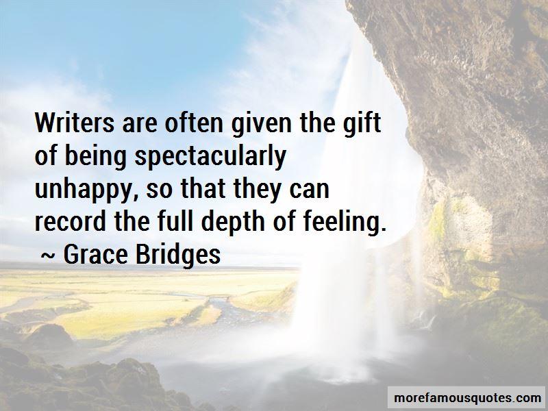 Grace Bridges Quotes