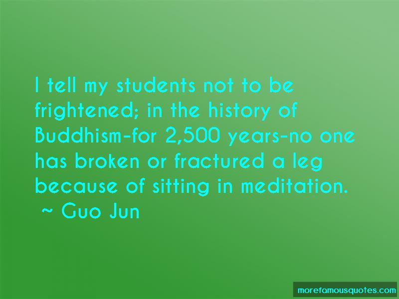 Guo Jun Quotes