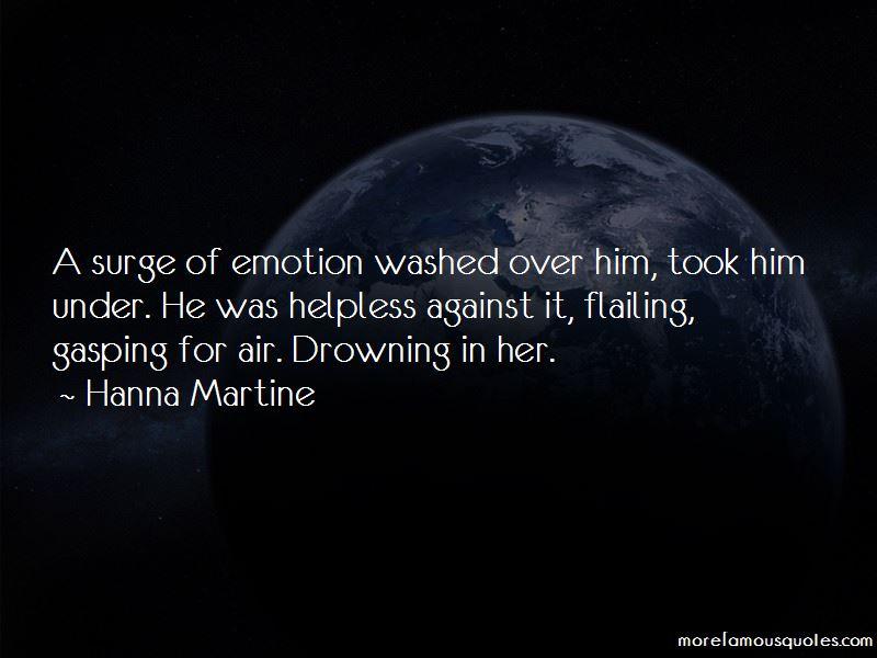Hanna Martine Quotes