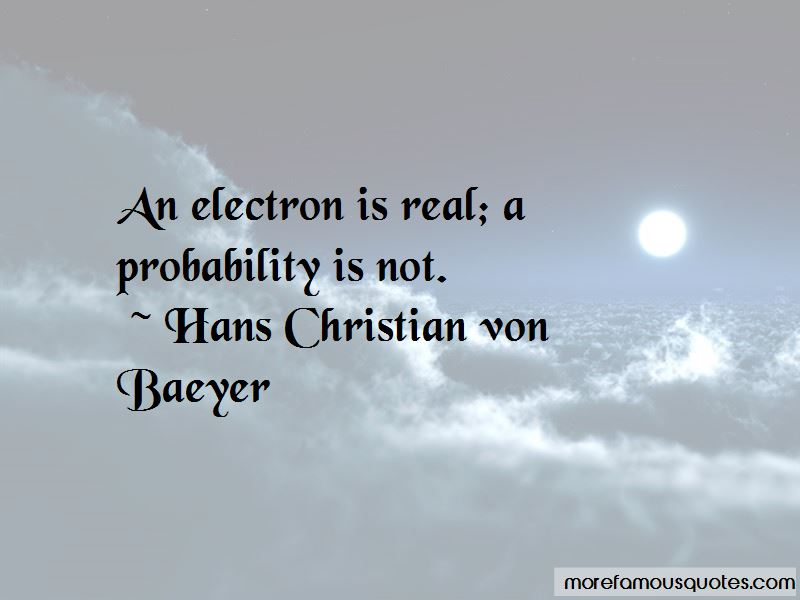 Hans Christian Von Baeyer Quotes Pictures 4