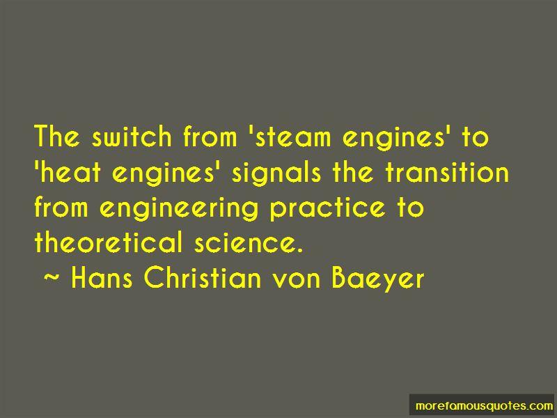 Hans Christian Von Baeyer Quotes