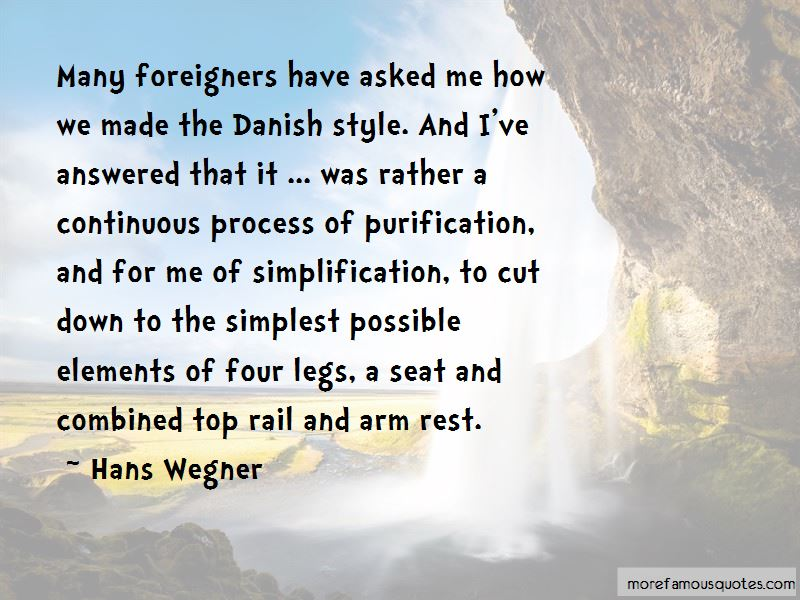 Hans Wegner Quotes Pictures 2