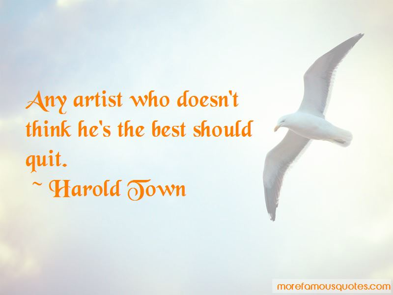 Harold Town Quotes