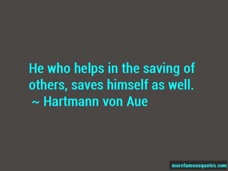 Hartmann Von Aue Quotes