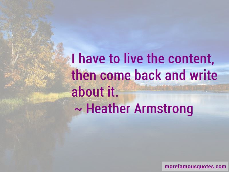Heather Armstrong Quotes Pictures 3