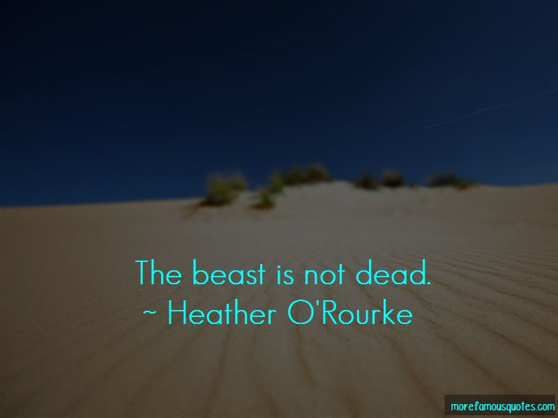 Heather O'Rourke Quotes Pictures 4