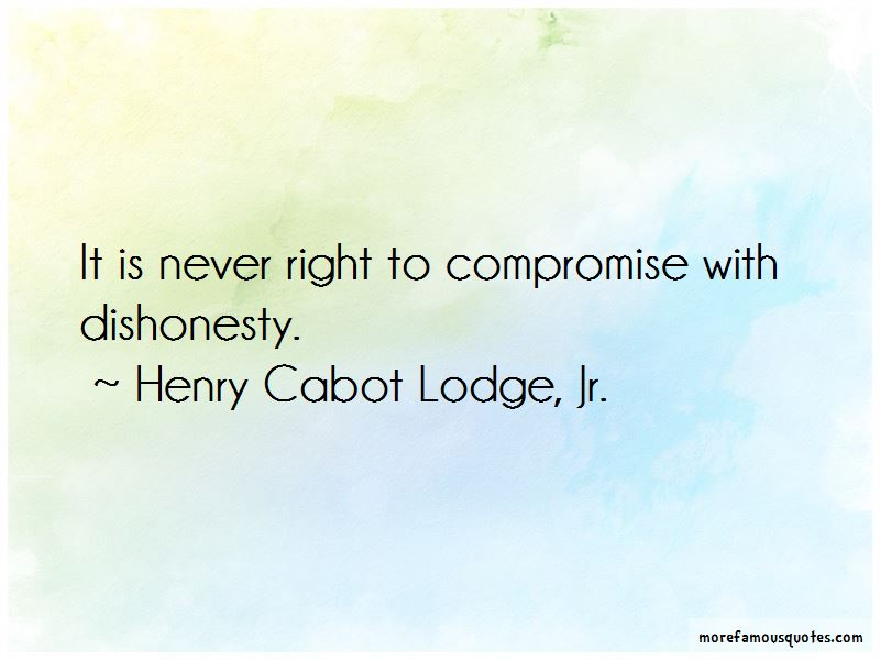 Henry Cabot Lodge, Jr. Quotes Pictures 4