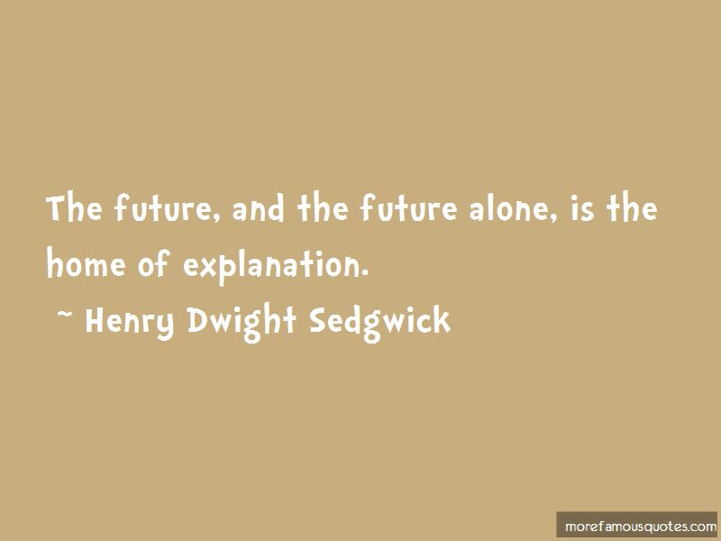 Henry Dwight Sedgwick Quotes Pictures 2