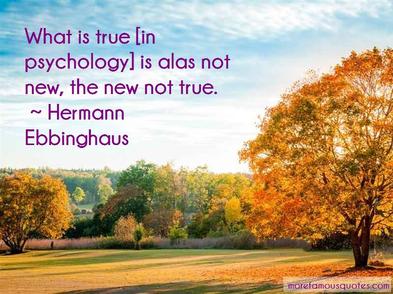 Hermann Ebbinghaus Quotes Pictures 2