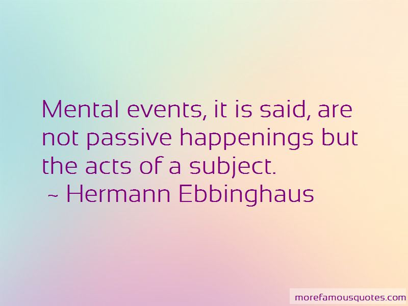 Hermann Ebbinghaus Quotes Pictures 3