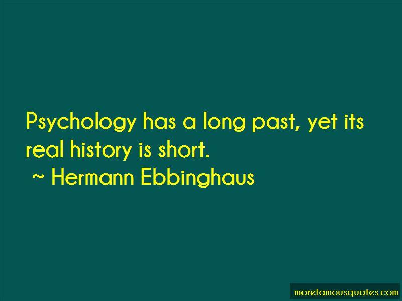 Hermann Ebbinghaus Quotes
