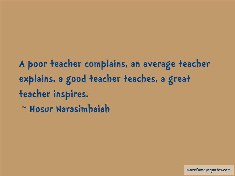 Hosur Narasimhaiah Quotes