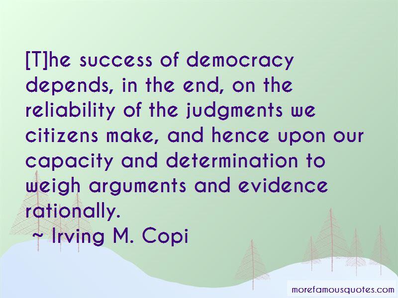 Irving M. Copi Quotes