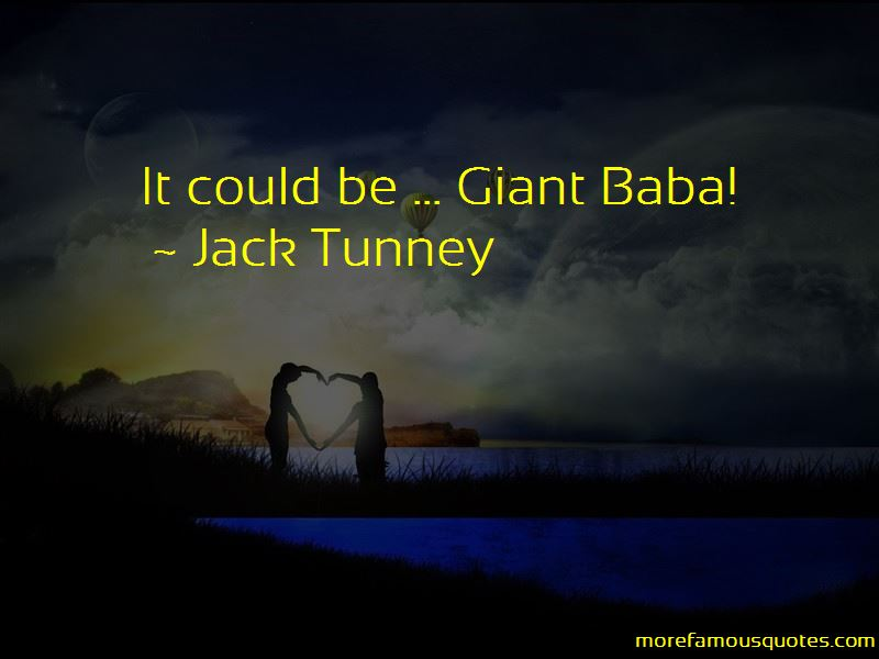 Jack Tunney Quotes