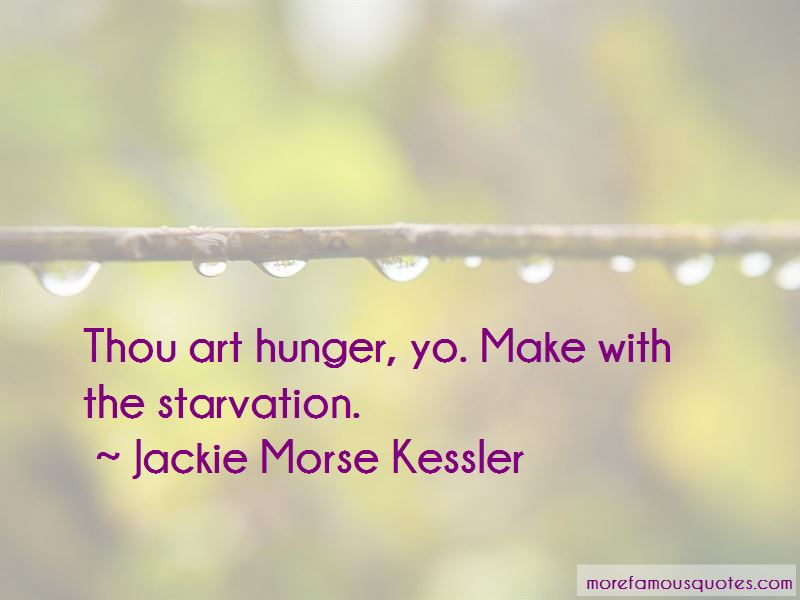Jackie Morse Kessler Quotes