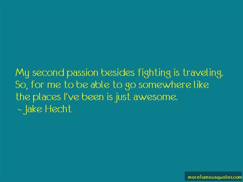 Jake Hecht Quotes Pictures 3