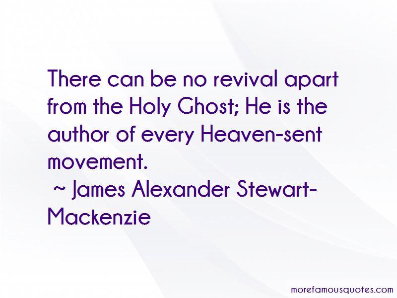 James Alexander Stewart-Mackenzie Quotes