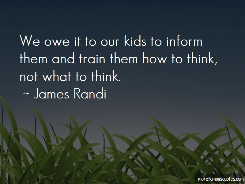 James Randi Quotes