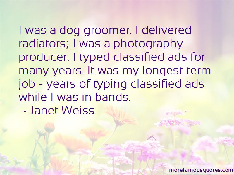 Janet Weiss Quotes Pictures 2