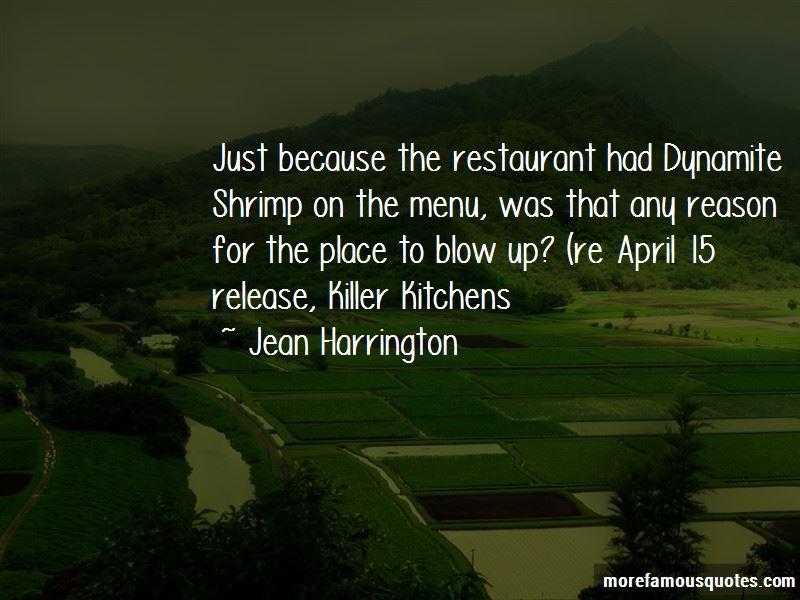 Jean Harrington Quotes