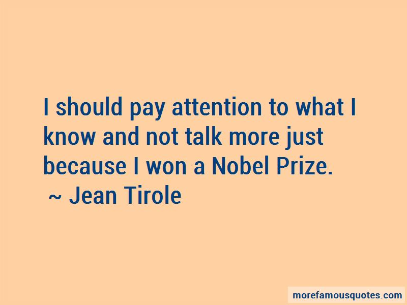 Jean Tirole Quotes
