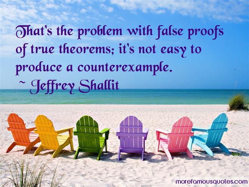 Jeffrey Shallit Quotes Pictures 2