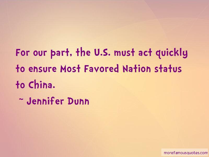 Jennifer Dunn Quotes