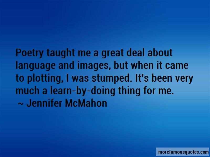 Jennifer McMahon Quotes Pictures 2