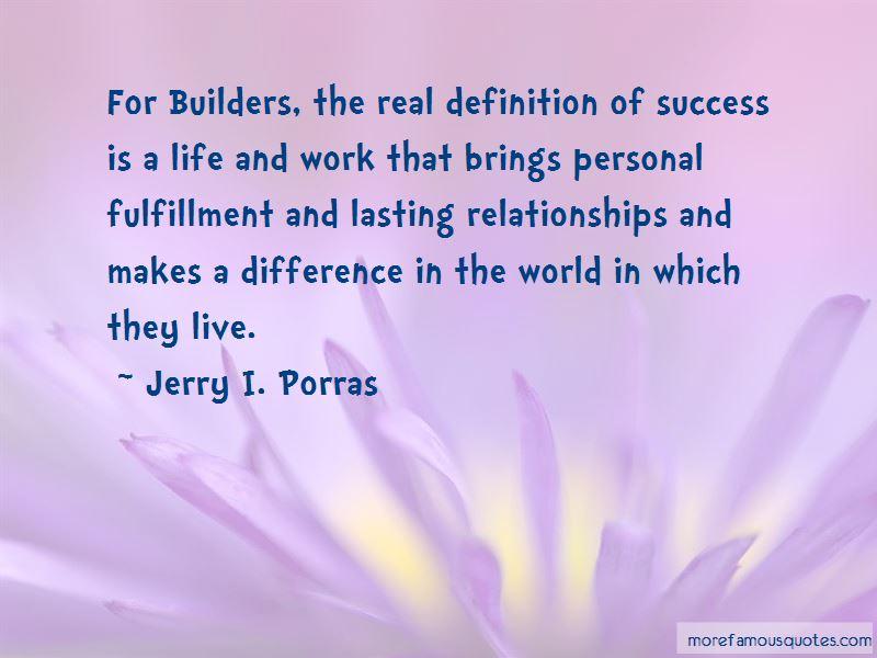 Jerry I. Porras Quotes