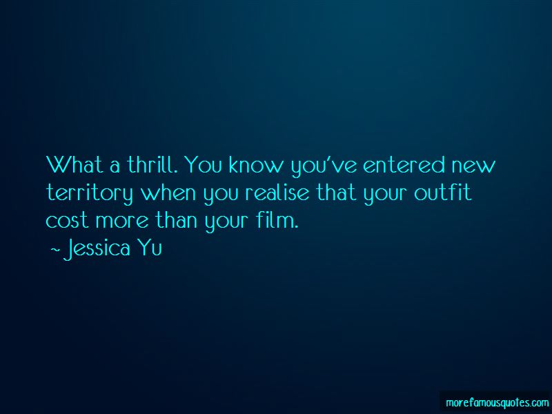 Jessica Yu Quotes Pictures 1