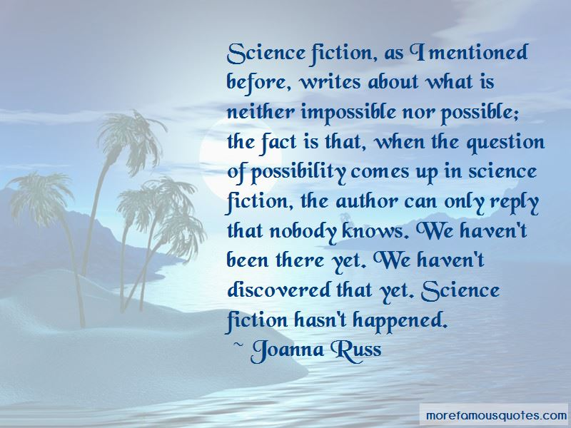 Joanna Russ Quotes Pictures 3