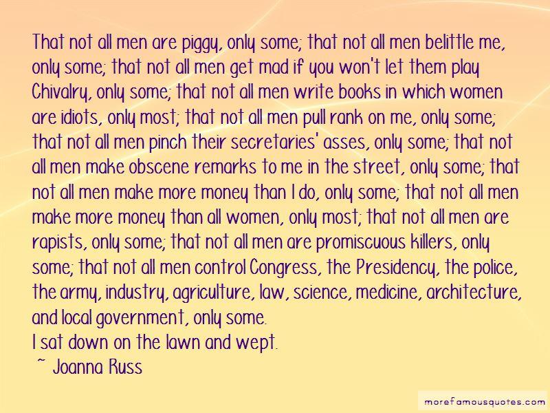 Joanna Russ Quotes