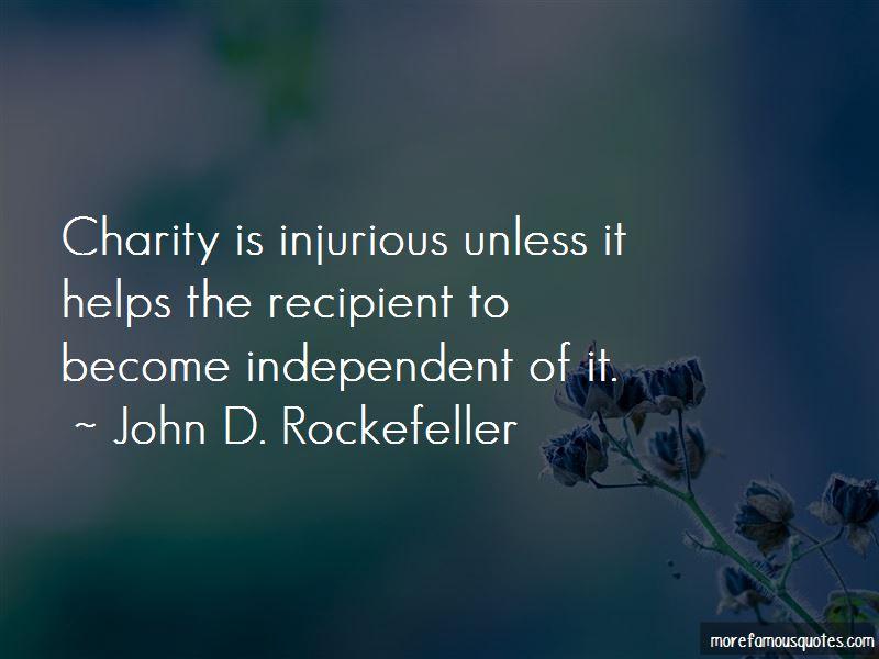 John D. Rockefeller Quotes Pictures 3