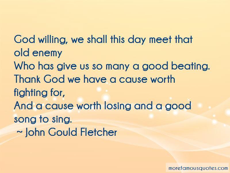 John Gould Fletcher Quotes