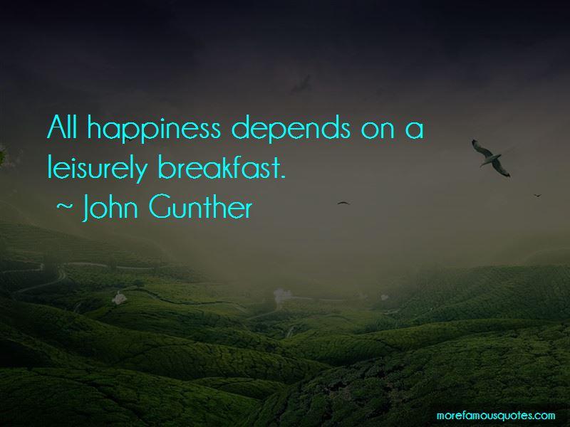 John Gunther Quotes