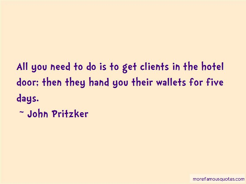 John Pritzker Quotes Pictures 3
