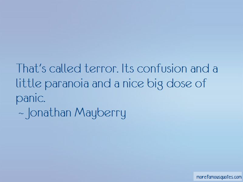 Jonathan Mayberry Quotes Pictures 2