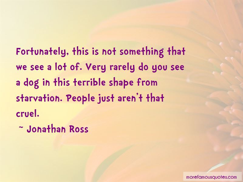 Jonathan Ross Quotes