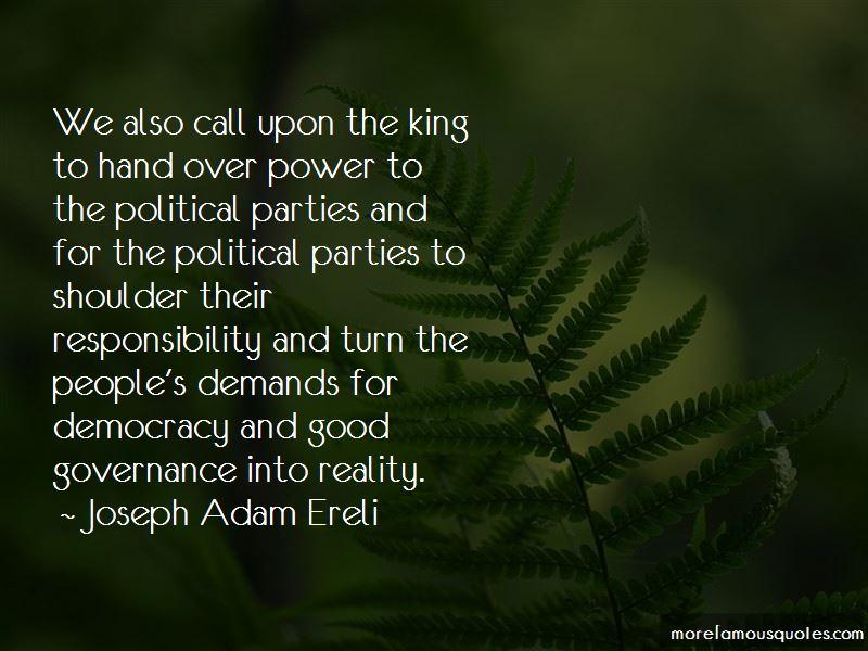Joseph Adam Ereli Quotes Pictures 3