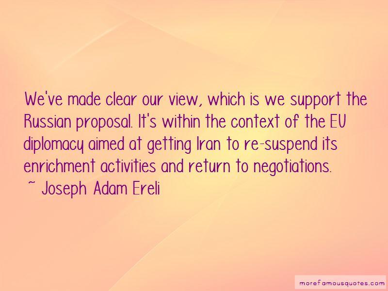 Joseph Adam Ereli Quotes Pictures 4