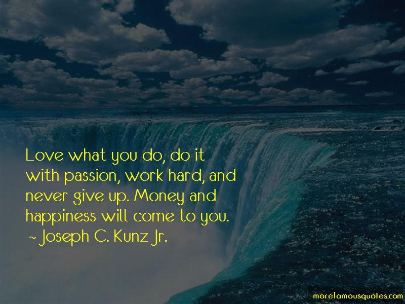 Joseph C. Kunz Jr. Quotes Pictures 3