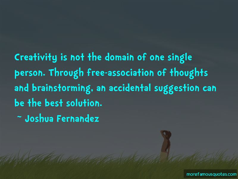 Joshua Fernandez Quotes Pictures 2