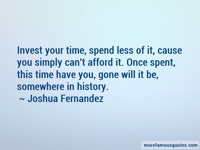 Joshua Fernandez Quotes Pictures 3
