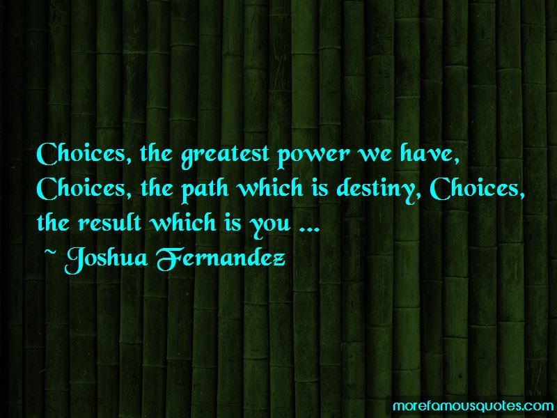 Joshua Fernandez Quotes Pictures 4