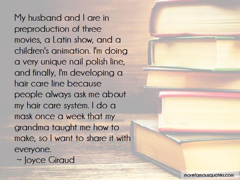 Joyce Giraud Quotes Pictures 2